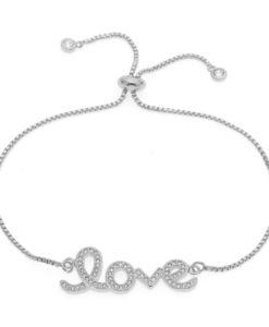 bracelet love swarovski