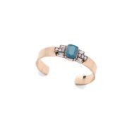 pulsera de moda azul