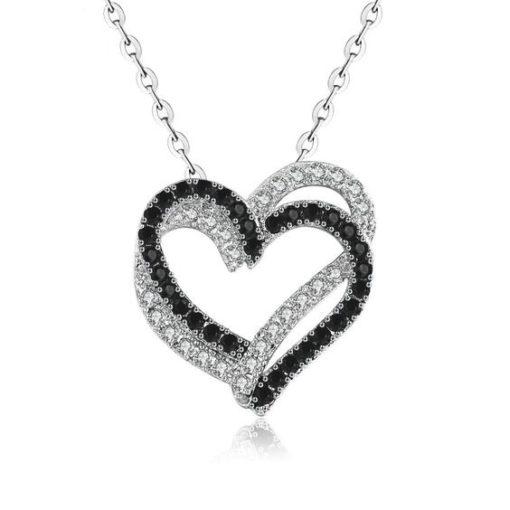 collar corazon mujer