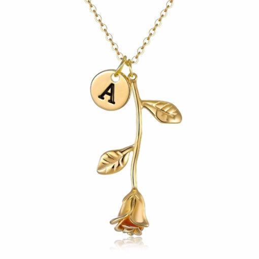 collar original personalizado oro