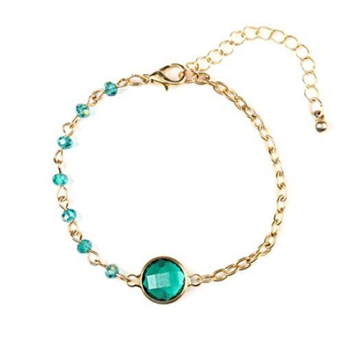 pulsera jade verde