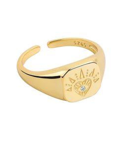 anillo sello tendencia mujer