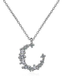 collar luna original plata regalo